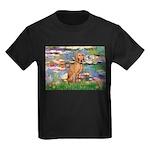 Lilies / Vizsla Kids Dark T-Shirt
