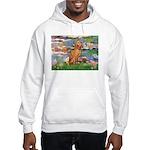 Lilies / Vizsla Hooded Sweatshirt