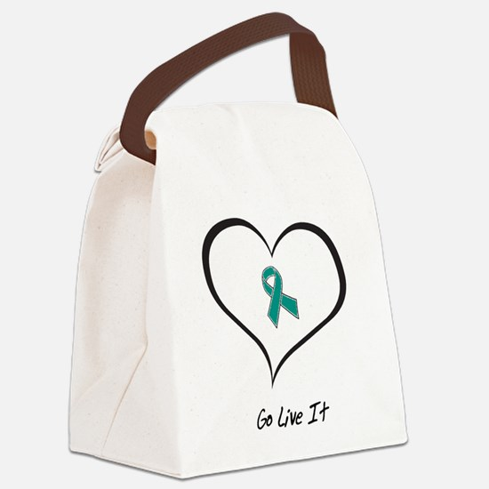 Unique Food allergy Canvas Lunch Bag