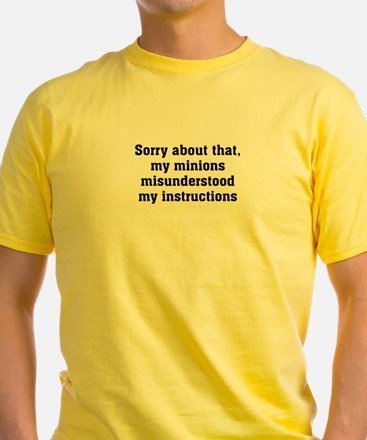 Sorry About Minions T