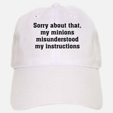 Sorry About Minions Cap