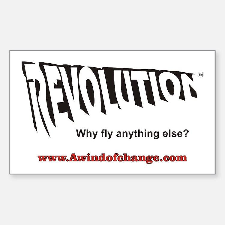 Revolution Apparel Rectangle Decal