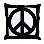 Peace / CND Throw Pillow