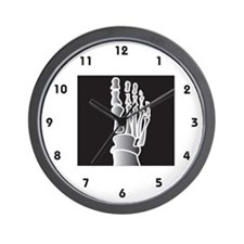 Podiatrist Wall Clock