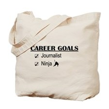 Journalist Career Goals Tote Bag