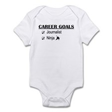 Journalist Career Goals Infant Bodysuit