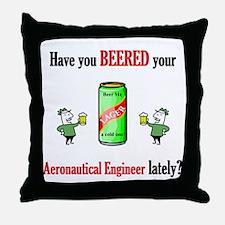 Aeronautical Engineer Throw Pillow