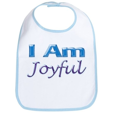 I Am Joyful Bib