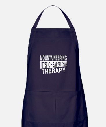 Awesome Mountaineering Player Designs Apron (dark)