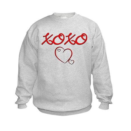 XOXO Heart Kids Sweatshirt