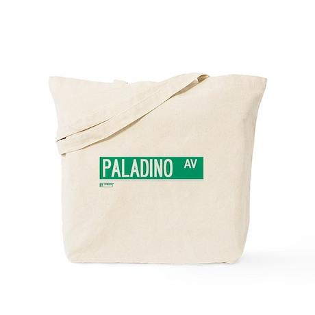 Paladino Avenue in NY Tote Bag