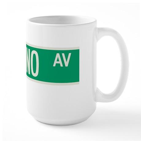Paladino Avenue in NY Large Mug
