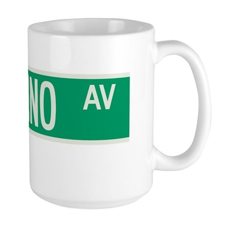 Paladino Avenue in NY Large Mug