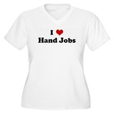 I Love Hand Jobs T-Shirt