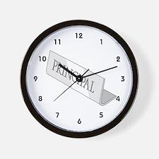 Principal Wall Clock