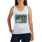 Sailboats / Vizsla Women's Tank Top