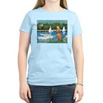 Sailboats / Vizsla Women's Light T-Shirt