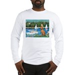 Sailboats / Vizsla Long Sleeve T-Shirt