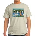 Sailboats / Vizsla Light T-Shirt