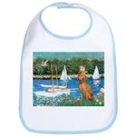 Sailboats / Vizsla Bib