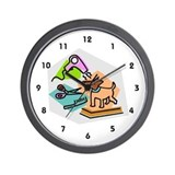 Dog groomer Basic Clocks