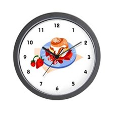 Pastry Chef Wall Clock