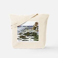 Aegir God of Ocean Tote Bag