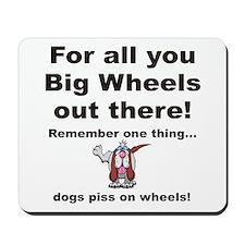 Big Wheels Mousepad