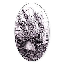 Kraken Oval Decal