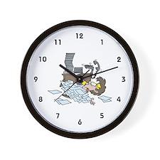 Legal Secretary Wall Clock