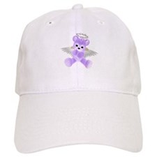 PURPLE ANGEL BEAR 2 Baseball Baseball Cap