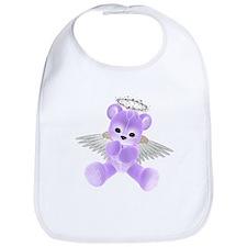 PURPLE ANGEL BEAR 2 Bib