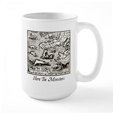 Here Be Monsters Mug
