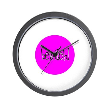 Bewitch Pink Wall Clock