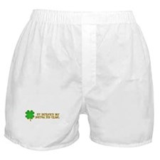 bOSTON PUB CRAWL Boxer Shorts
