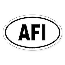 AFI Oval Decal