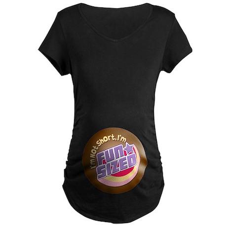 Fun-Sized Maternity Dark T-Shirt