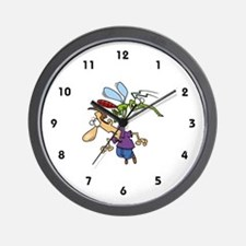 Exterminator Wall Clock