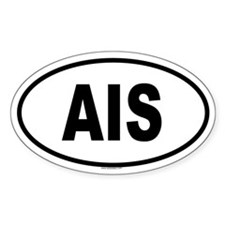 AIS Oval Decal