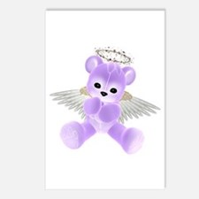 PURPLE ANGEL BEAR 2 Postcards (Package of 8)