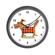 Dog Walker Wall Clock