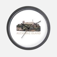 Alcatraz Island Wall Clock