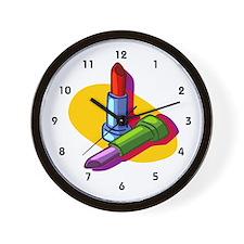 Cosmetologist Wall Clock