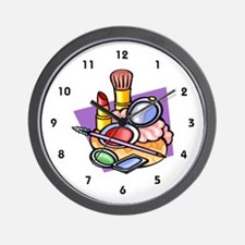 Cosmetologist Wall Clock