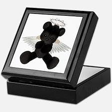 BLACK ANGEL BEAR Keepsake Box