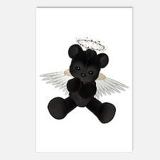 BLACK ANGEL BEAR Postcards (Package of 8)