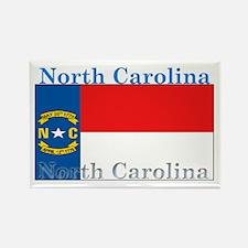 North Carolina State Flag Rectangle Magnet