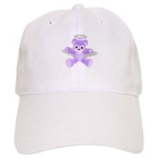 PURPLE ANGEL BEAR Baseball Baseball Cap