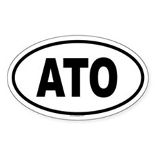 ATO Oval Decal