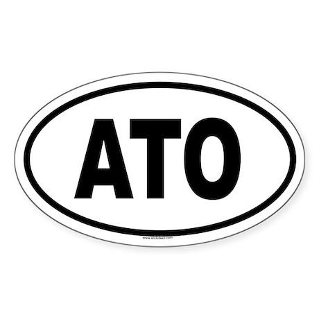 ATO Oval Sticker